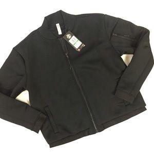 Womens Under Armour Black Activewear Jacket Zip Up